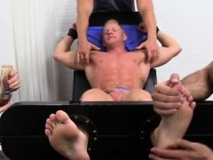 Gay male foot fetish free web and long porn Johnny Gets