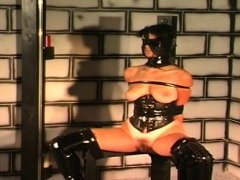 Bound up and coercive to endure bdsm action whilst bound up