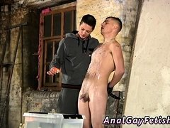 Nude old men in bondage gay Poor Leo can't escape as the