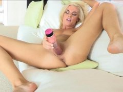 One of majority honeys online plays with her sex-toys