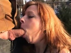Milfs outdoor public sex in winter - More On HDMilfCam.com