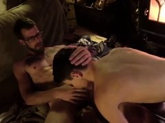Hot naked boys young gay Dad Family Cabin Retreat