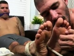 Gay small feet sucking xxx Johnny Foot Fucks Caleb