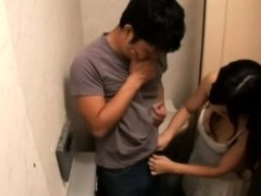 Milf removes son's cum in toilet - Part 2 On HDMilfCam.com