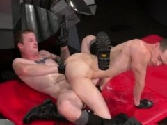 Fist fucked black men gay xxx In an acrobatic 69, Axel
