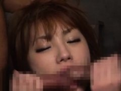 Oriental sex in pov with woman addicted to schlong