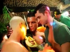Brazilian dudes naked in party and gay man to fucking