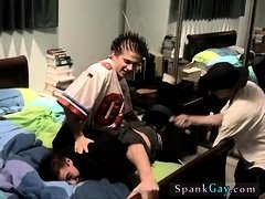 Boy spanking gay Kelly Beats The Down Hard