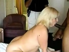 PAWG Wife goes at it with a huge BBC for her birthday