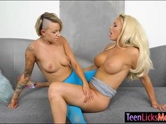 Pressley Carter and Olivia Fox lesbo sex