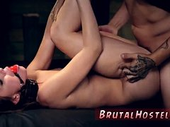 Hot girl bondage xxx Best mates Aidra Fox and Kharlie