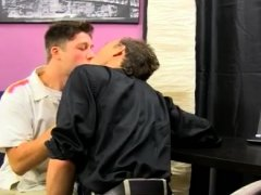 Cousin gay sex first time Kirk's head bobs furiously as