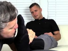 Shit fuck me gay porn Tommy Makes Tenant Worship His Feet