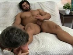 Gay sexy twink shaved legs Alpha-Male Atlas Worshiped