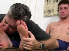 Gay twink wet feet first time Logan's Feet & Socks
