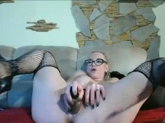 German Great Tits Teacher With Glasses Teaching Sex