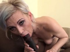 Hip granny Kathy White has sucked a lot of dick in her 71