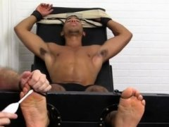 Foot fetish gay and gays twink toes sucking Mikey Tickle