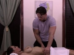 Ts babes get massaged