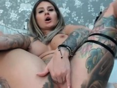 Charmy Shaved Busty On Homemade Action