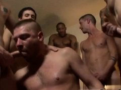 Hour twink gay porn and group fuck video Bareback for the