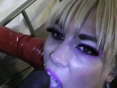 MKB LONG NAILS MISTRESS SUCKING AND JERKING BBC