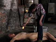 Straight boy bondage gay xxx Chained to the warehouse