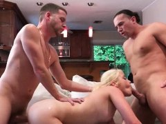 Aubrey and Debbie Hot Foursome In Real Slut Party