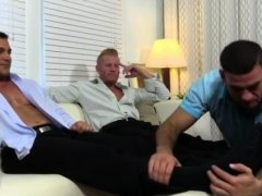 Big old man gay sex xxx Ricky Worships Johnny & Joey's