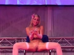 skinny teen doll naked on stage