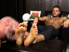 Naked feet of hot men gay xxx Tyrell's Sexy Feet Worshiped