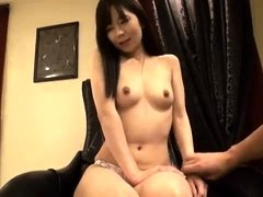 Hairy Japanese forced to get off with toys