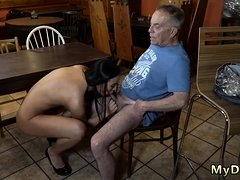 Teen old man and father young chum's daughter xxx Can you