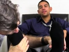 Cup of dads cum gay porn Jake Torres Gets Foot Worshiped