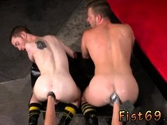 Bi gay sexual fisting men Seamus O' Reilly is stacked on
