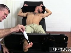 Gay twink toe sucking Tino Comes Back For More Tickle