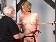 Bare chicks roughly playing in thraldom xxx video