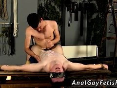 Male bondage haircut gay Wanked And Waxed To The Limit