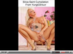 Silvia Saint Cumshot collection