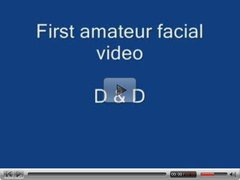 First amateur facial
