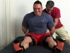 Feet men daddy gay sexy xxx Tough Wrestler Karl Tickled