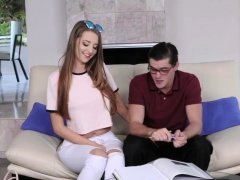 Teen try anal toy and curious The Sibling Study And Suck