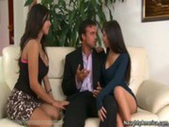 Threesome with April O'Neil and Yurizan Beltran