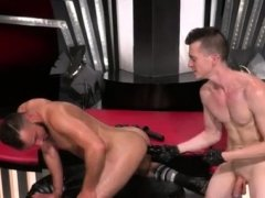 Gay fisting sex hard videos Aiden Woods is on his back
