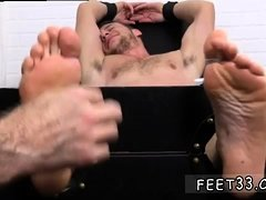 Gay foot fetish full movies Kenny Tickled In A Straight
