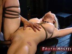 Bondage in desert first time Big-breasted blonde hotty
