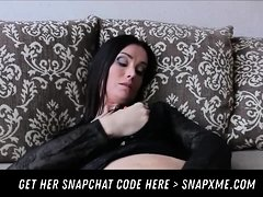 Horny Milf Finger Pussy HER SNAPCHAT HERE - SNAPXME COM