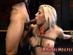 Extreme deep anal dildo first time Big-breasted blonde