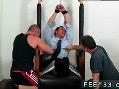 Boys with nice feet gay With his hands roped above his
