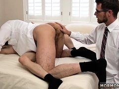 Horny young gay man seduce daddy first time Every member